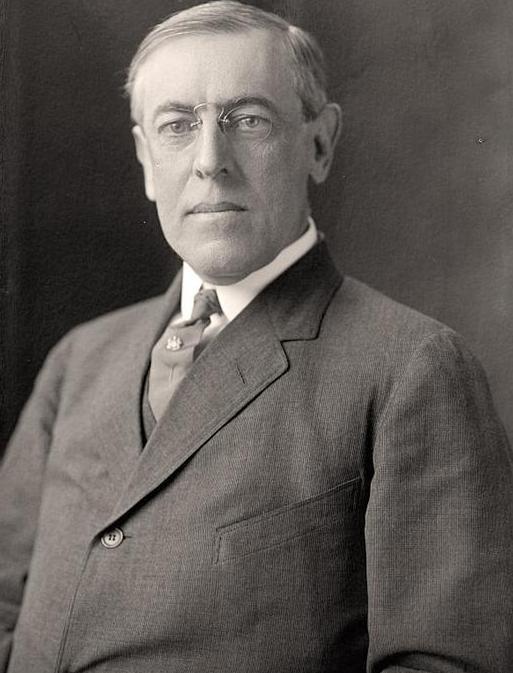 Woodrow Wilson Größe