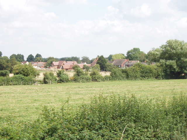 Towersey from the Phoenix Trail - geograph.org.uk - 32920