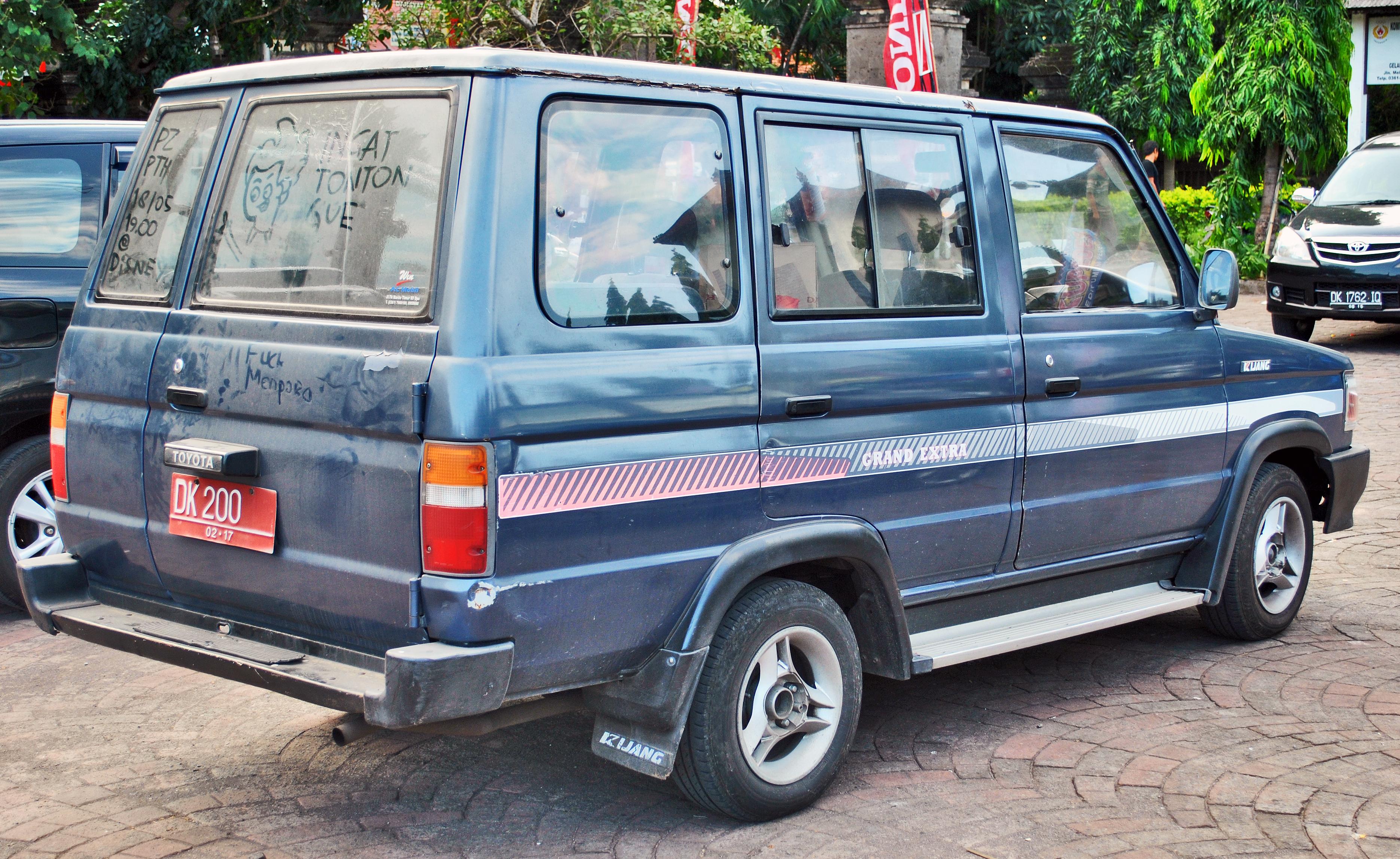 File:Toyota Kijang Grand Extra (belakang), Denpasar.jpg ...