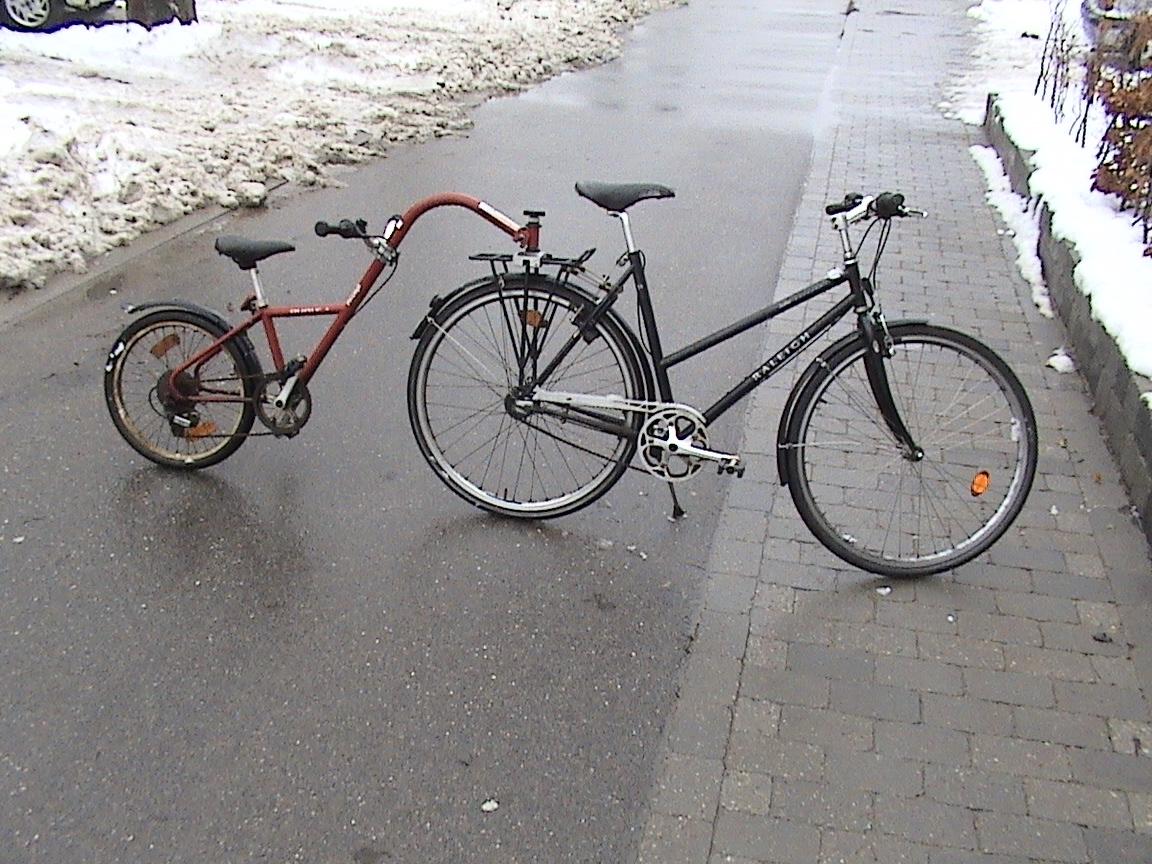 rocky cykel sort