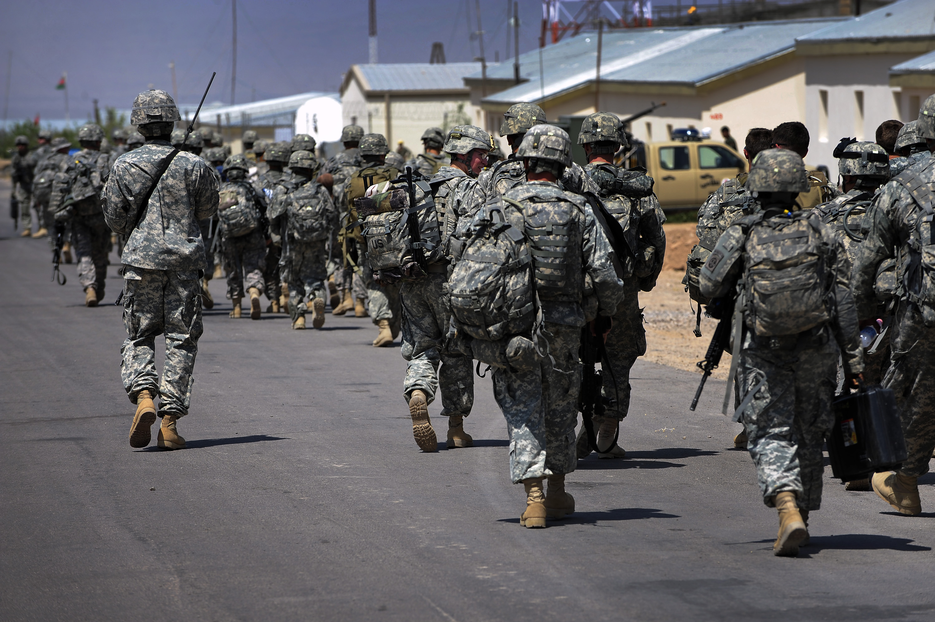 File u s soldiers from brigade combat team 4 82nd for Camp stone
