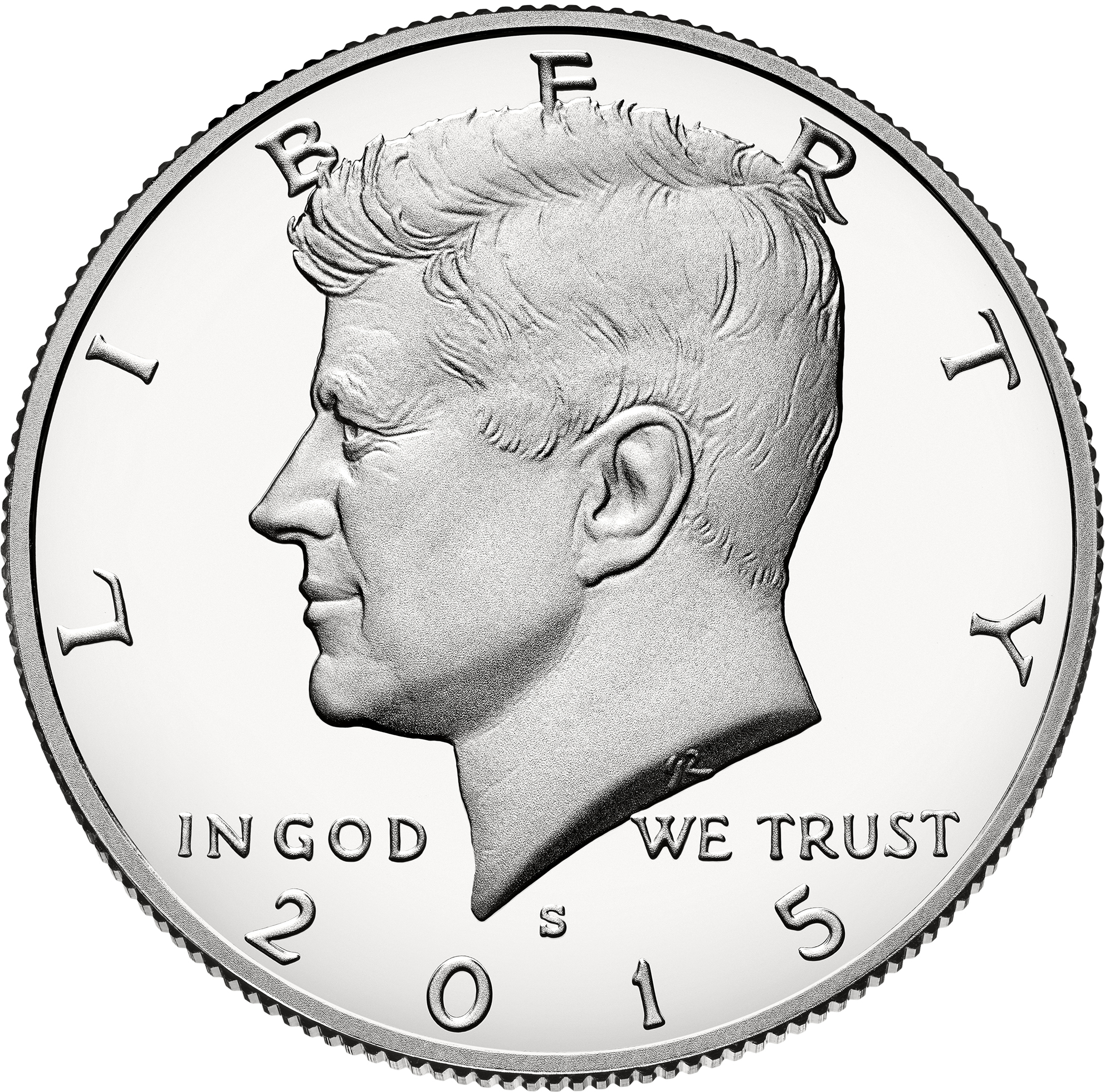 1-1964 Kennedy Half Design Copper Round Copper