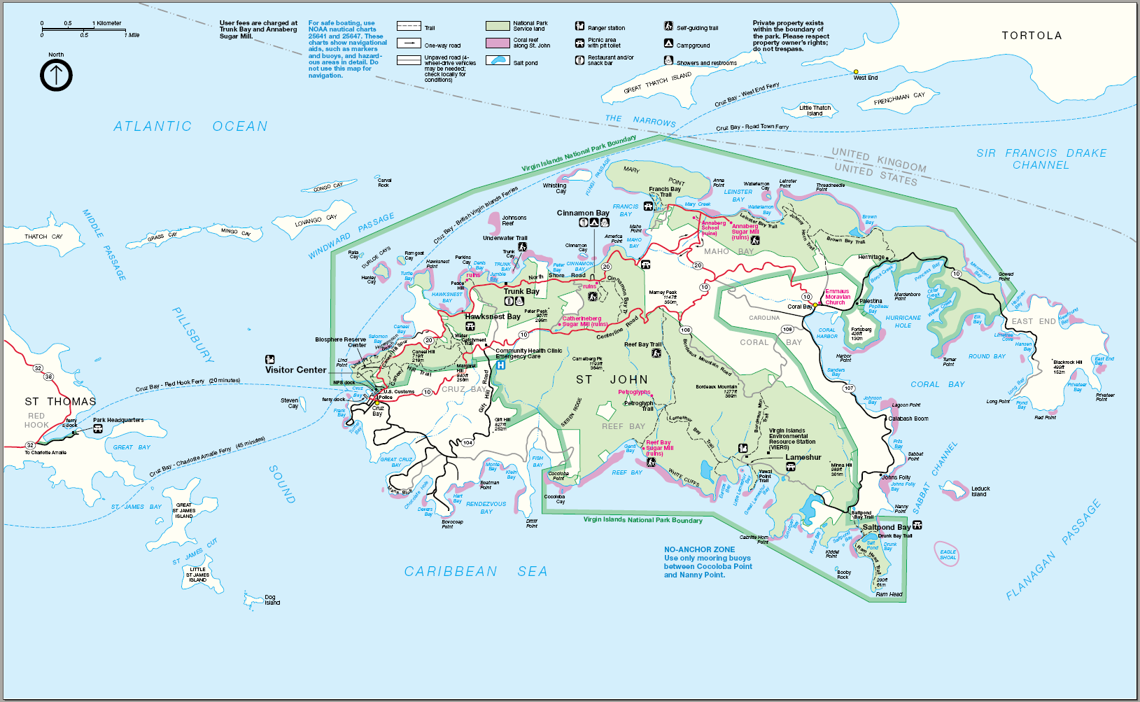 Santa Rosa Island Elevation Map