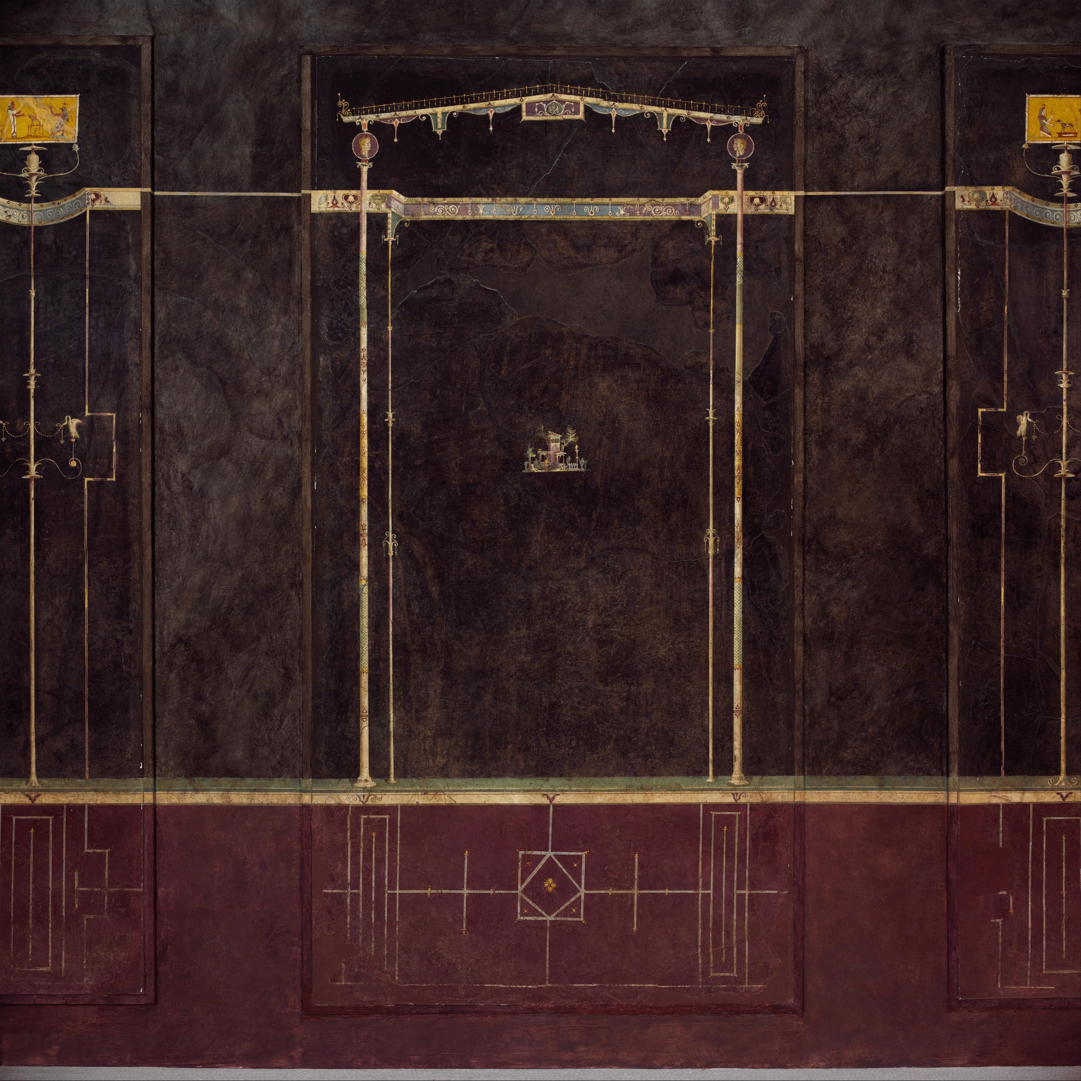 Third Style Wall Painting Villa Agrippa