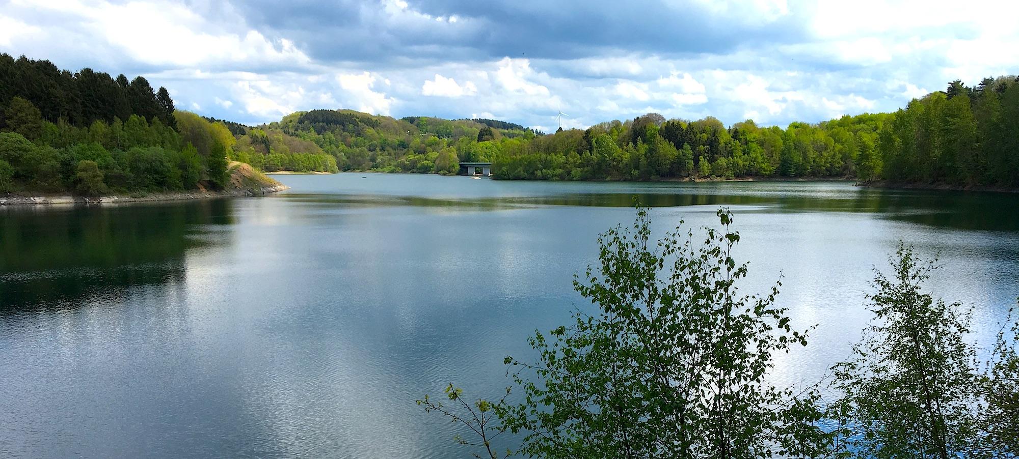 13 мая 2017, водохранилище на реке Вуппер.