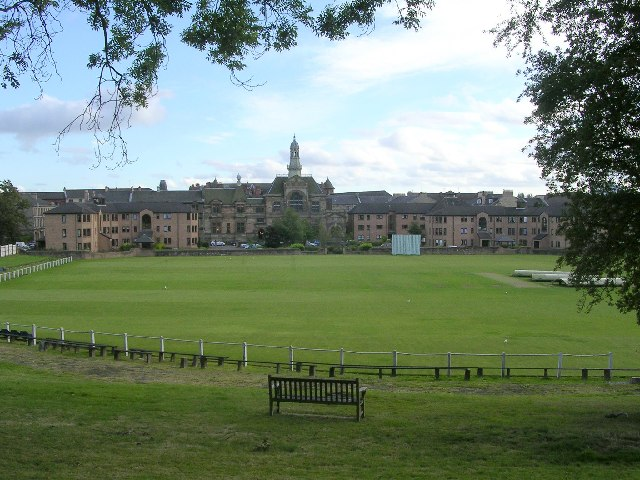 Description West of Scotland Cricket Ground - geograph.org.uk - 47582 ...