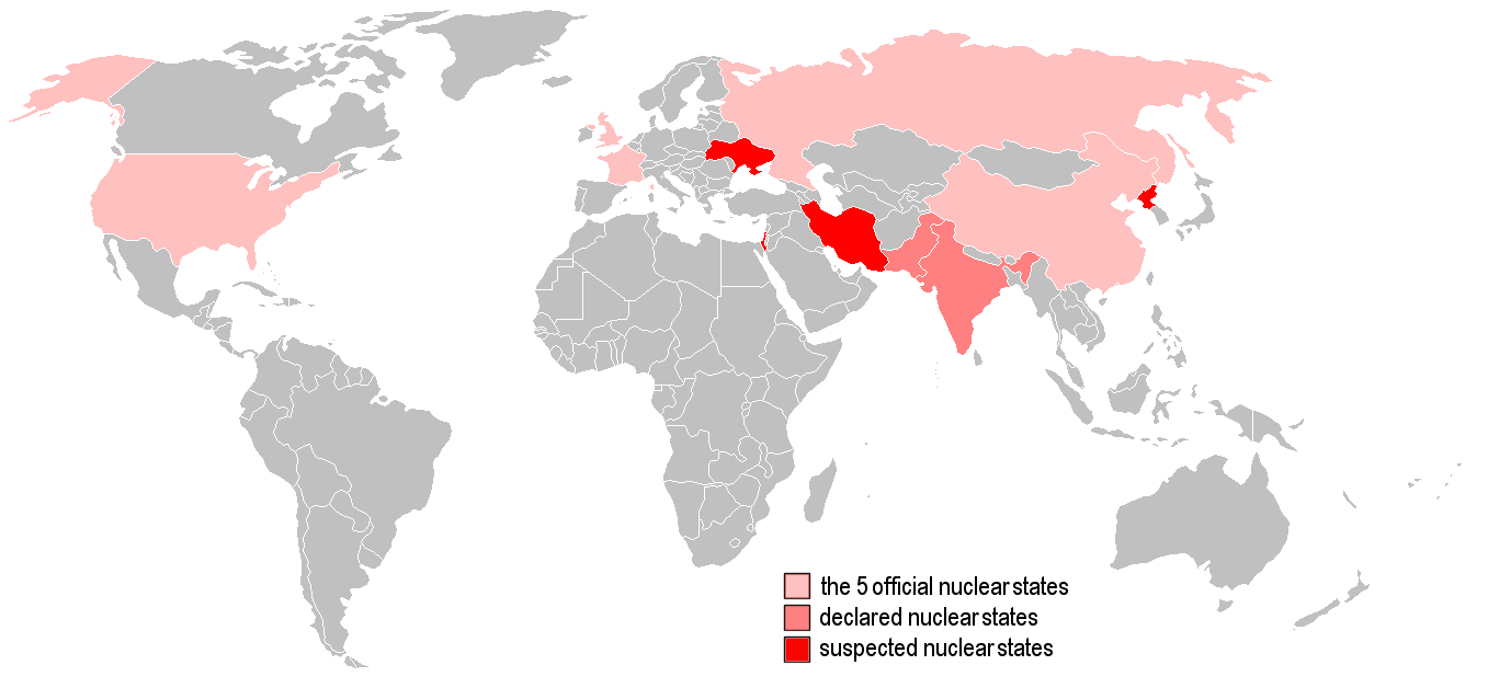 Fileworldmap list of countries with nuclear weaponsg wikimedia fileworldmap list of countries with nuclear weaponsg gumiabroncs Gallery
