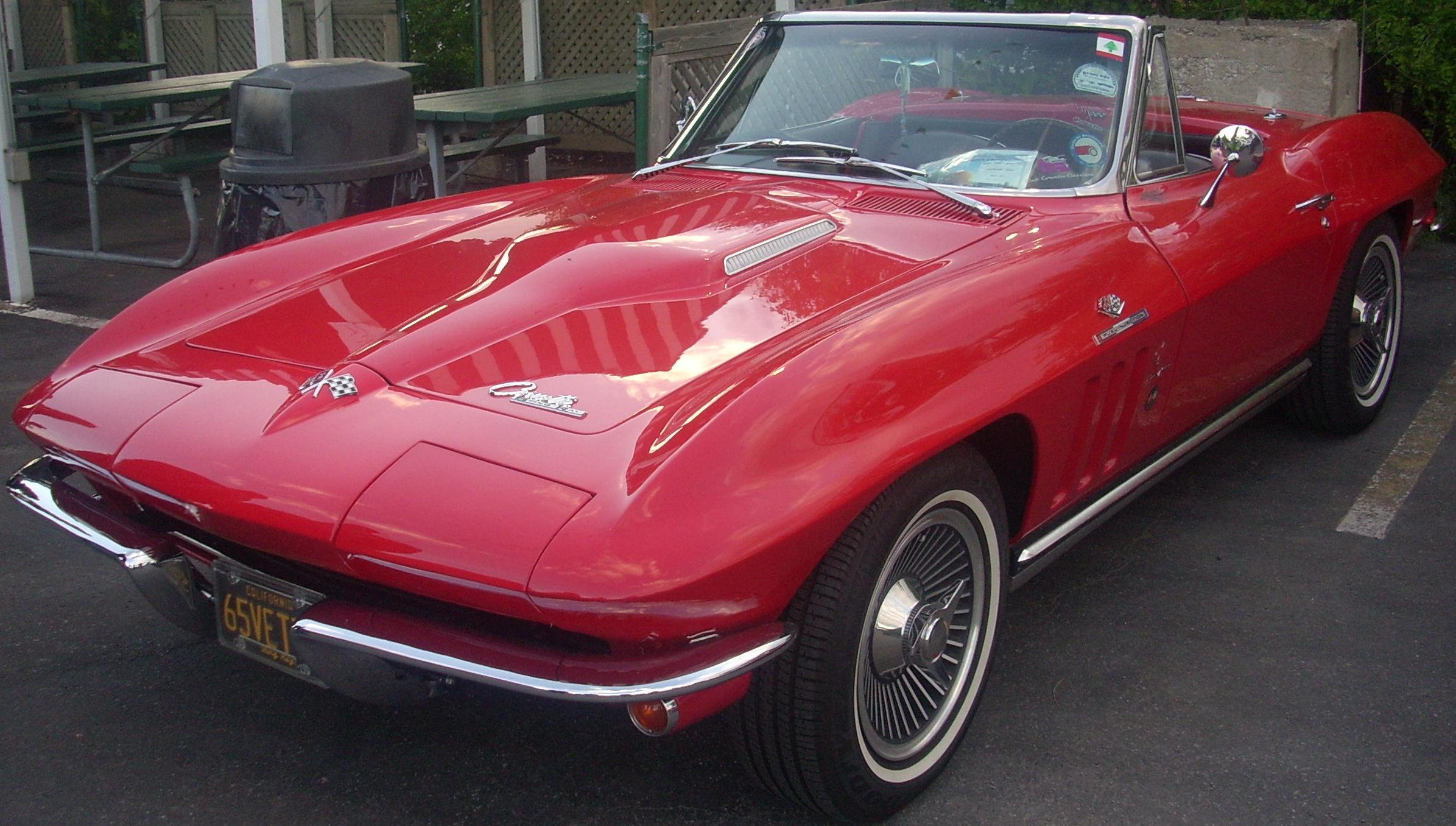 File 65 Chevrolet Corvette Orange Julep Jpg