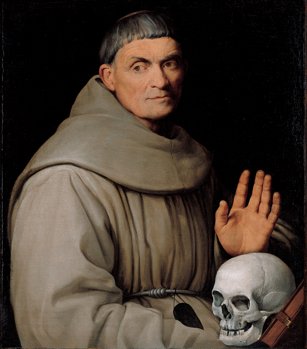File:'Portrait of a Franciscan Friar', oil on canvas ...