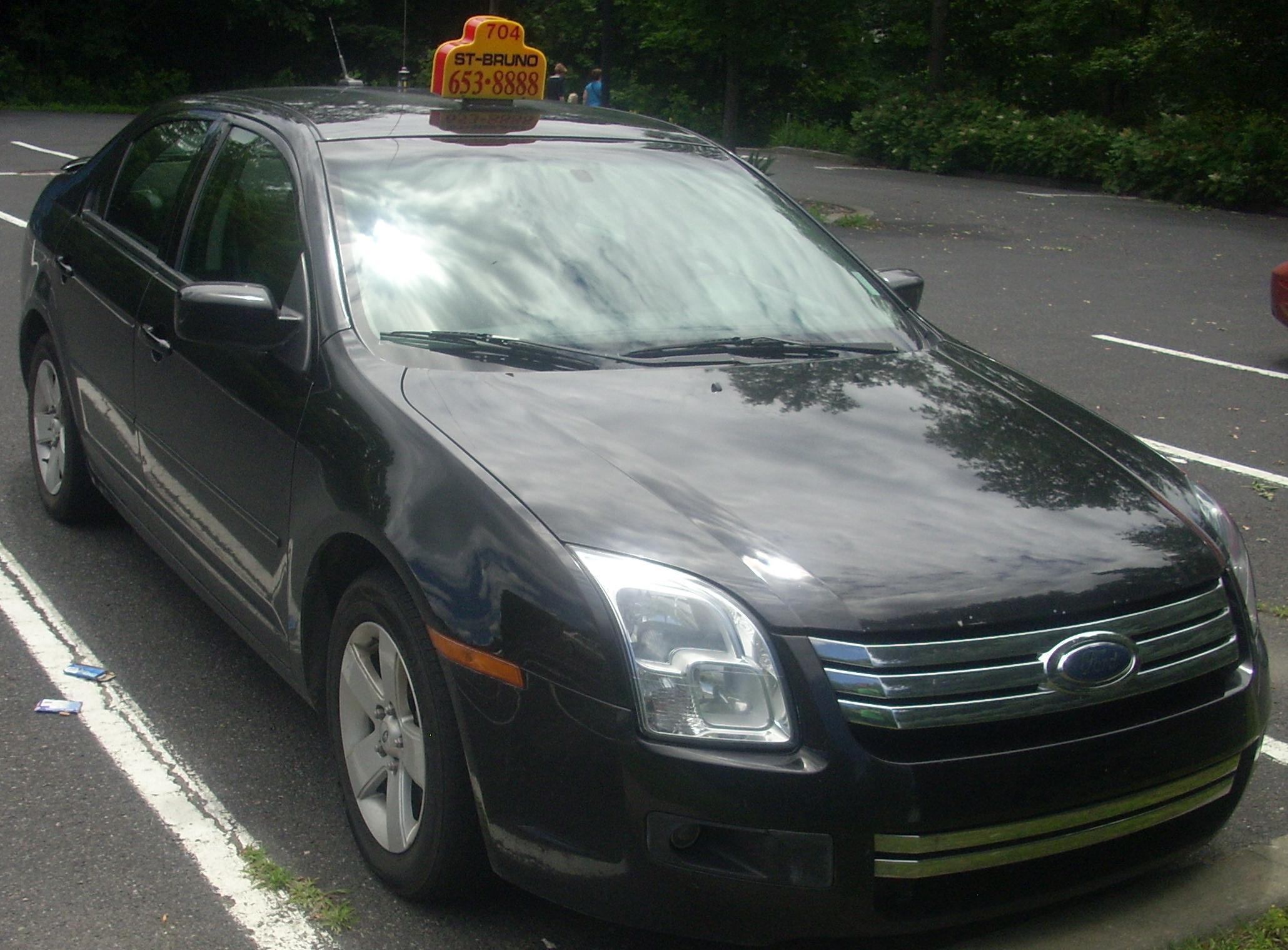 ford fuson для такси