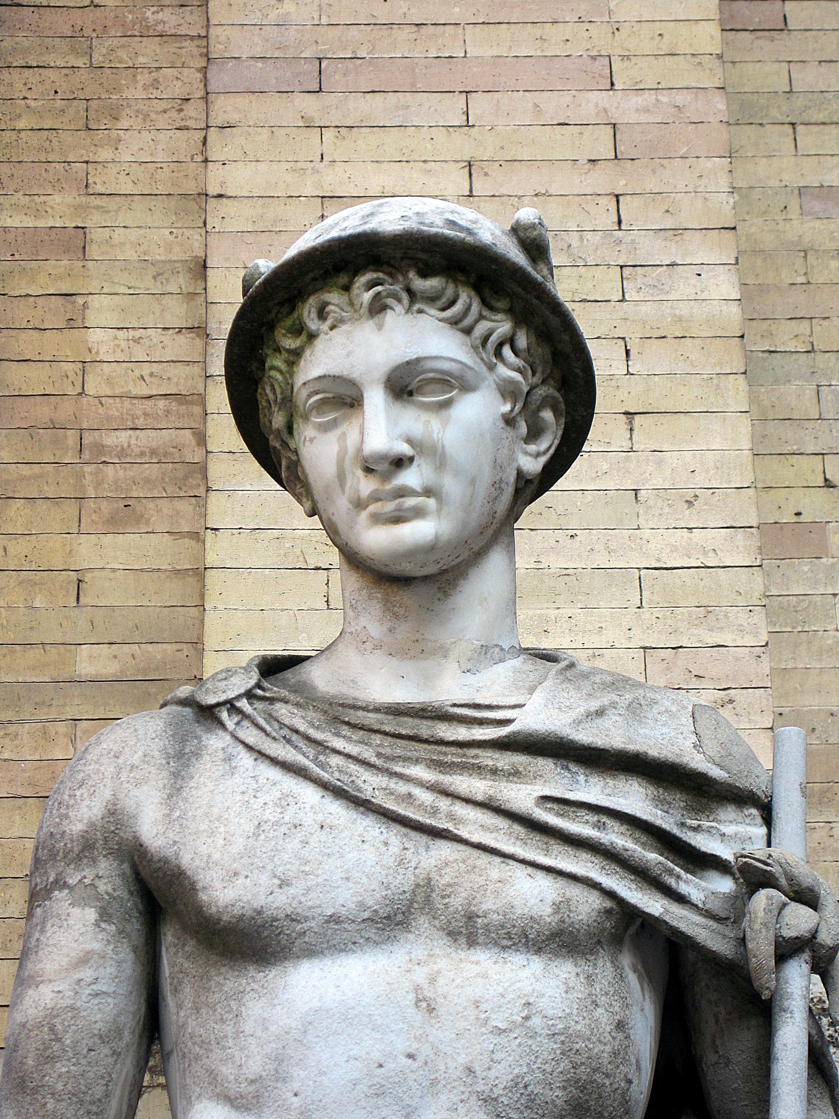 0 Hermès (Mercure) - Museo Pio-Clementino (Vatican ).JPG