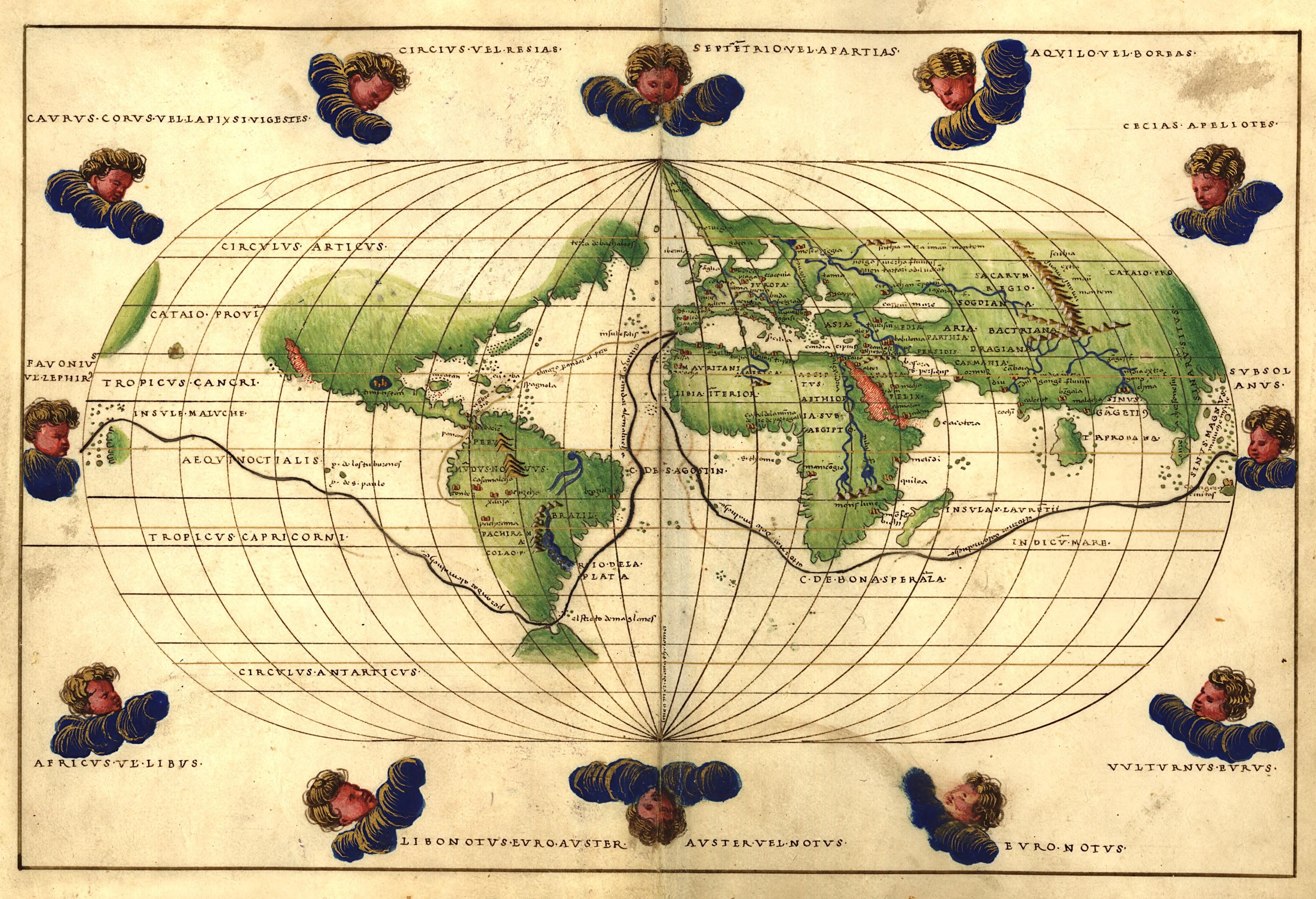 Les autres, l�Europe et Magellan