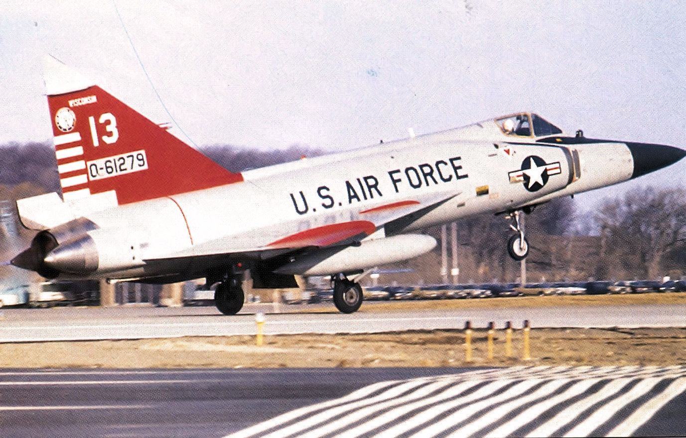 File:176th Fighter Interceptor Squadron Convair F-102A-75-CO Delta Dagger