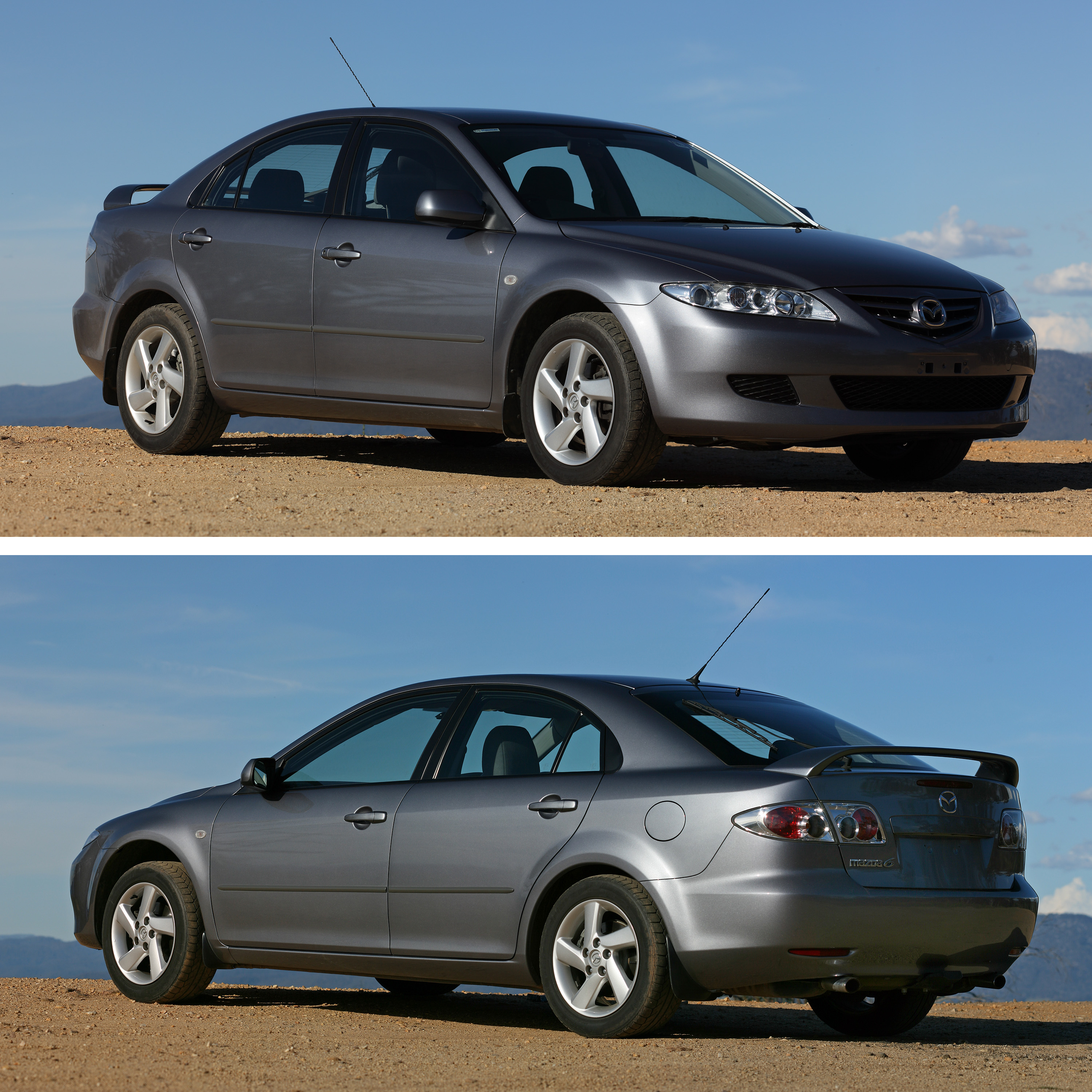 2003_Mazda6_GG_Classic_Hatch_Front_%26_R