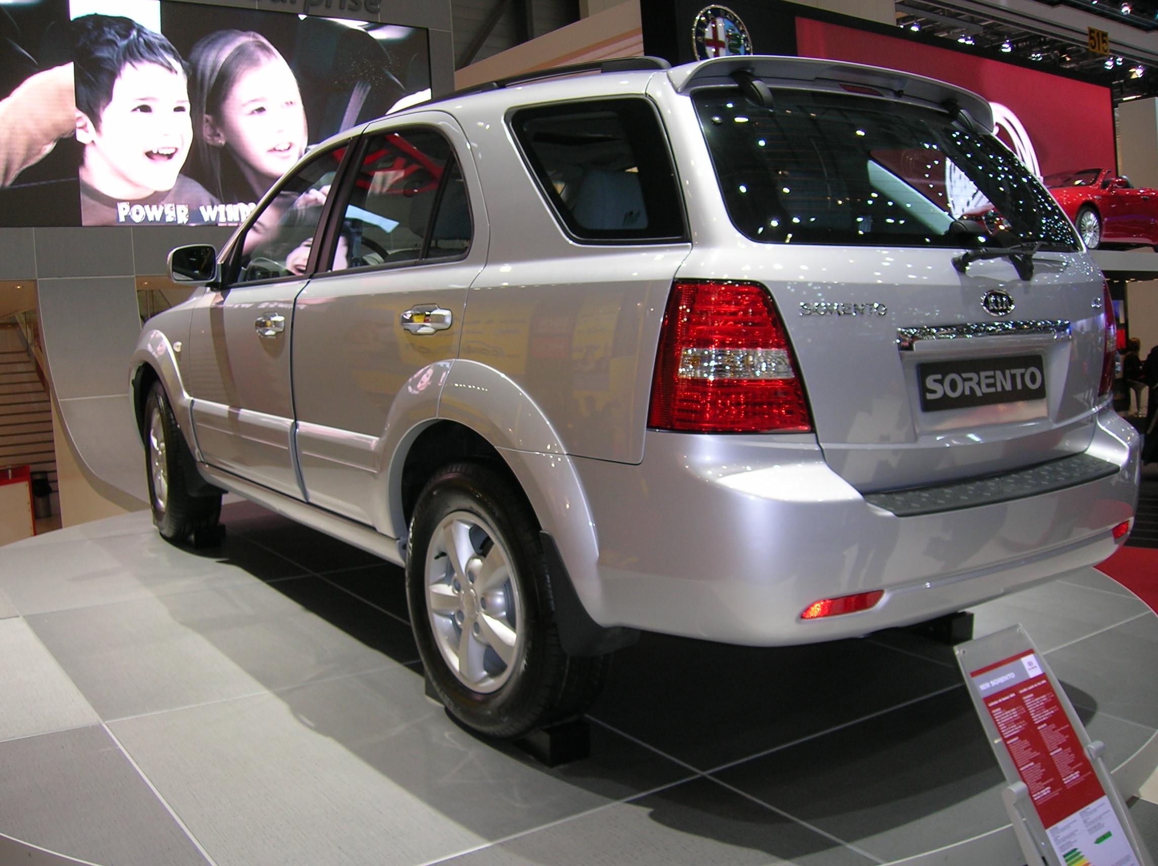 Kia Sorento 3 5 Ex 4x4  2006