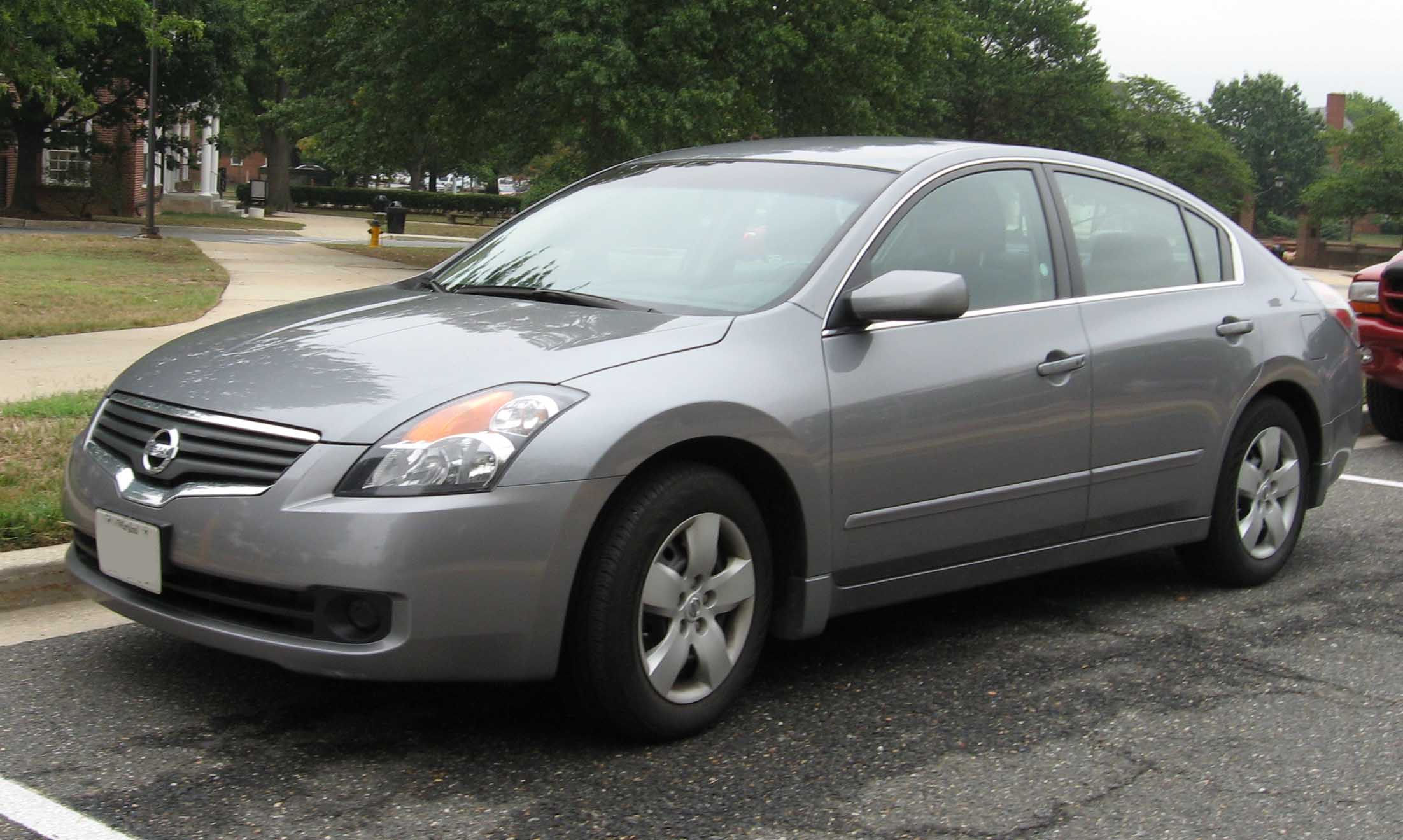 Nissan Altima Paint Code Location