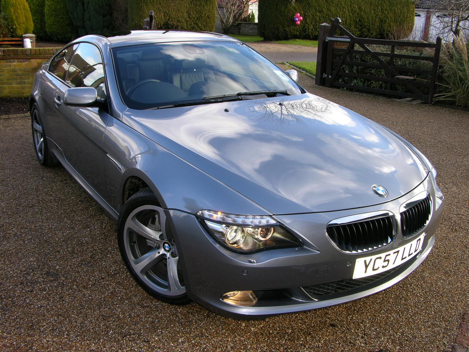File 2007 Bmw 635d Sport Flickr The Car Spy 22 Jpg Wikimedia Commons