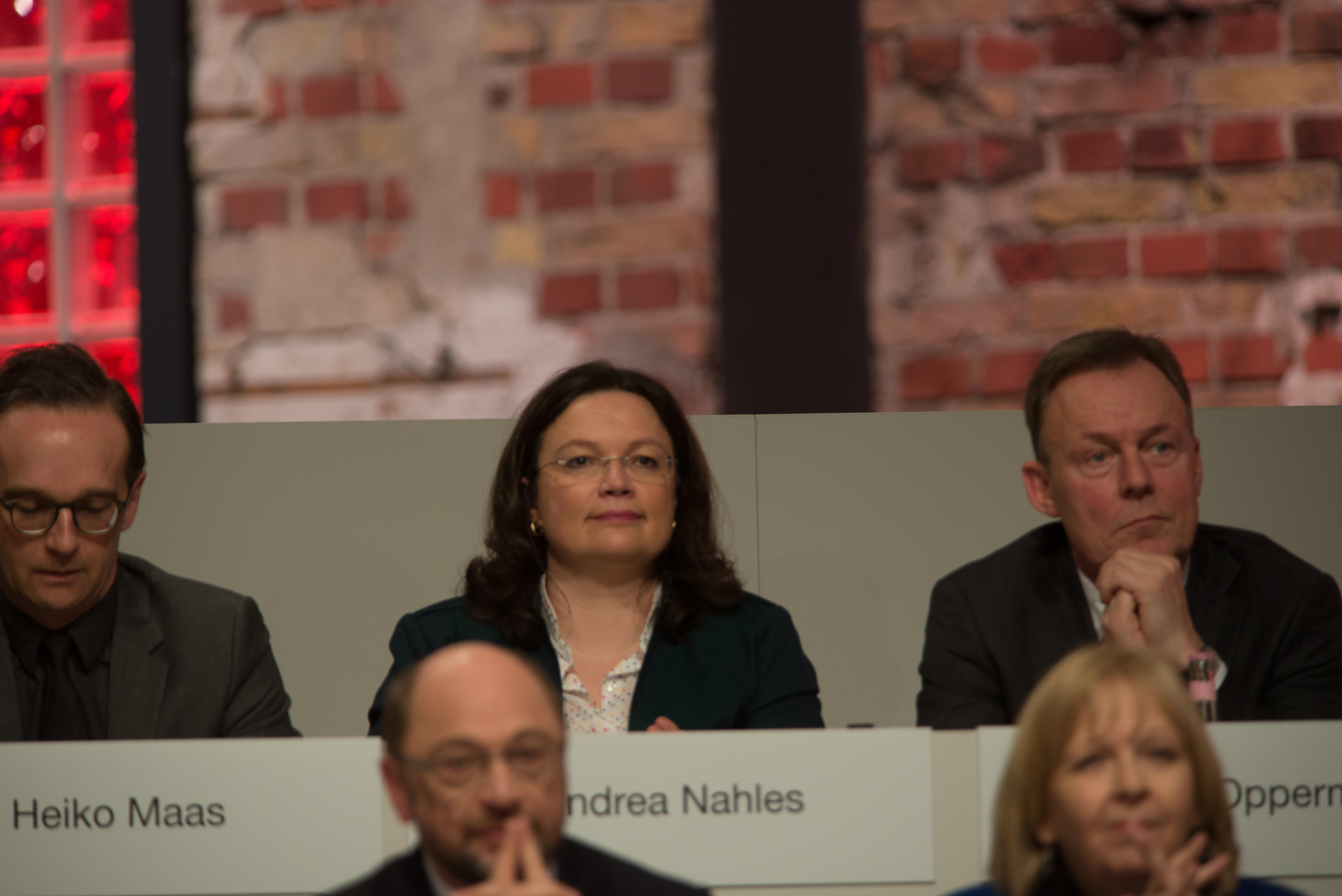 2017-03-19 Andrea Nahles SPD Parteitag by Olaf Kosinsky-2