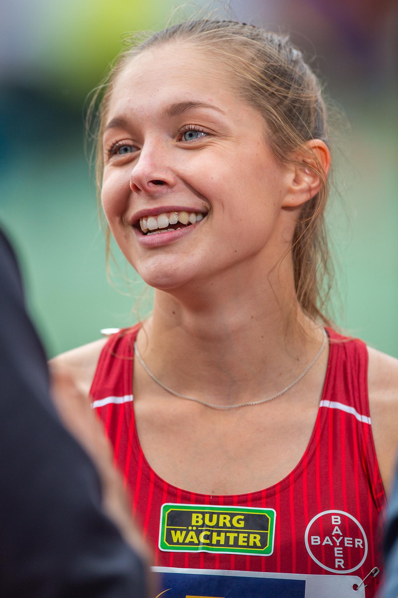 Lueckenkemper nackt Gina  German Olympic