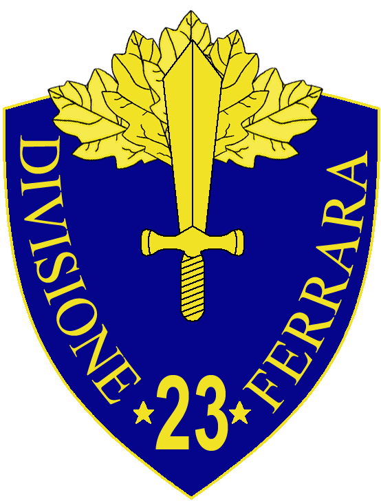 23rd Infantry Division Ferrara - Wikipedia