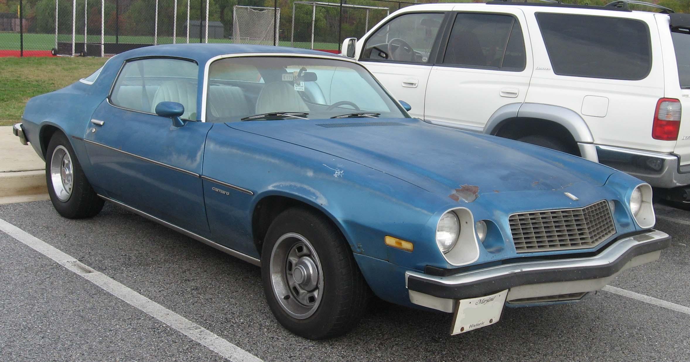 1977 Chevrolet Camaro Classic Automobiles