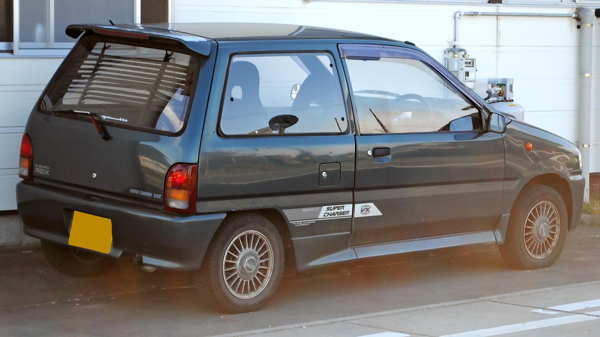 File 3rd Subaru Rex 2 Jpg Wikimedia Commons