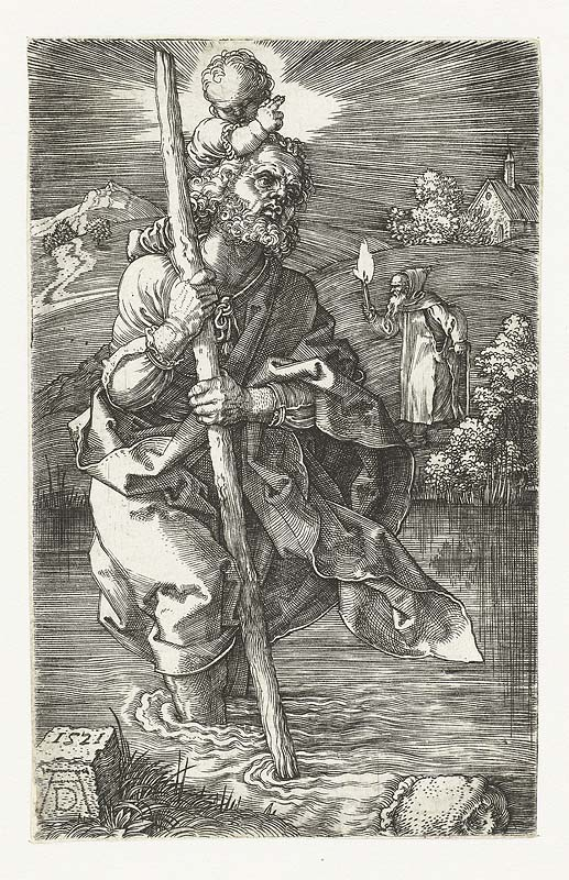 Saint Christopher Drawing File:77 st Christopher Facing