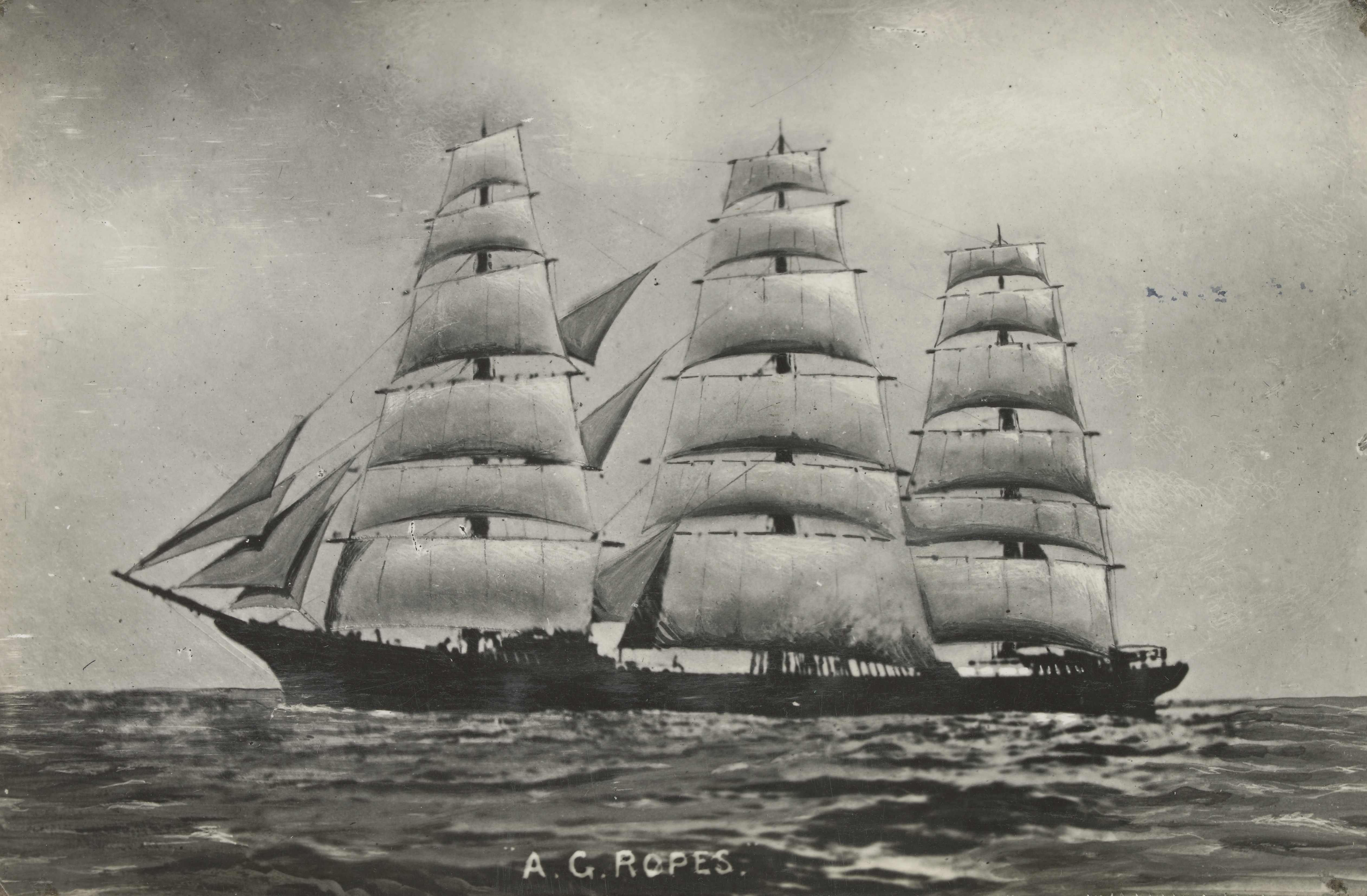 File:A.G. Ropes (ship, 1884) - SLV H99.220-4373