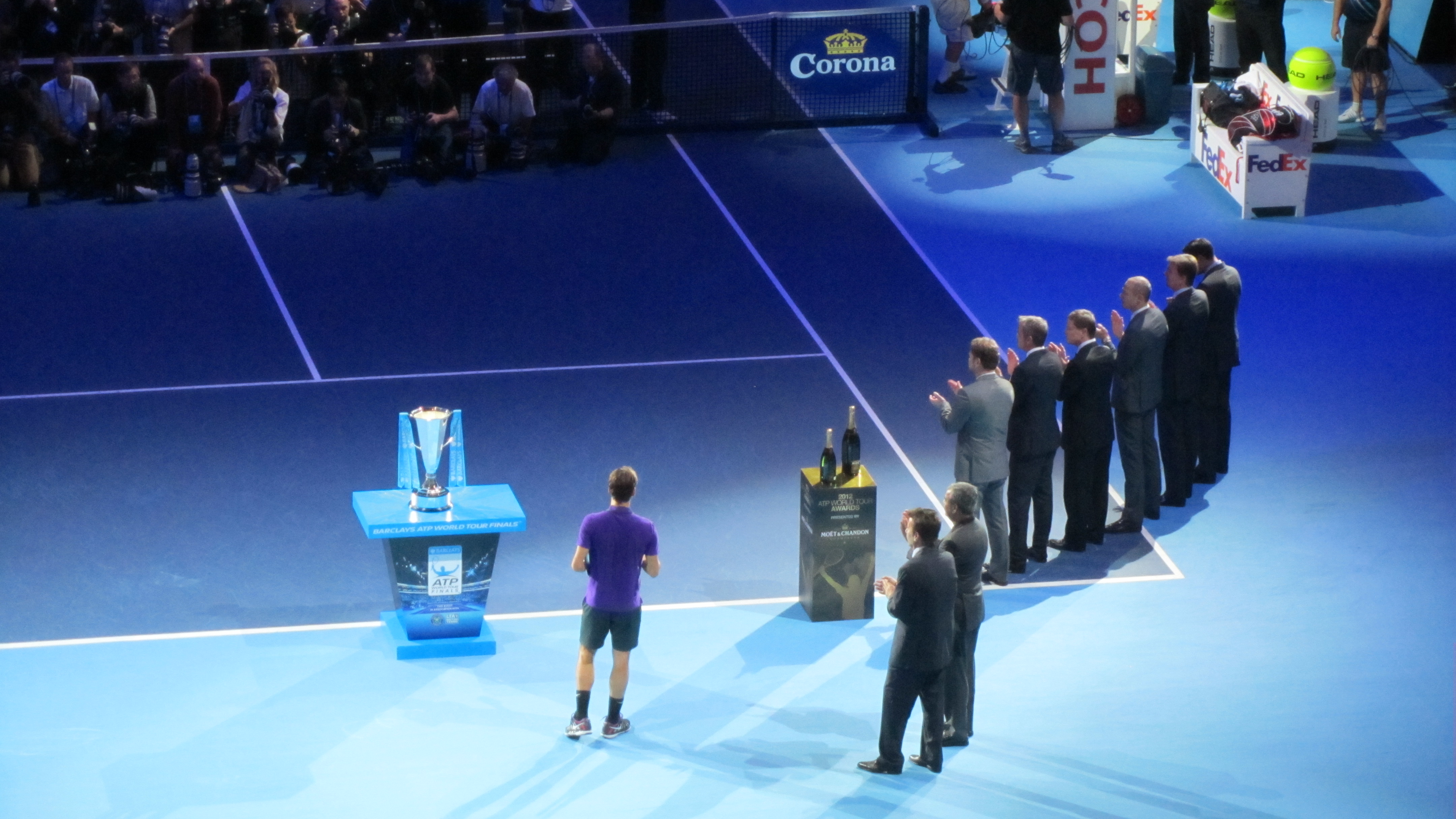 File Atp World Tour Finals At The O2 Singles Ceremony 8324849845
