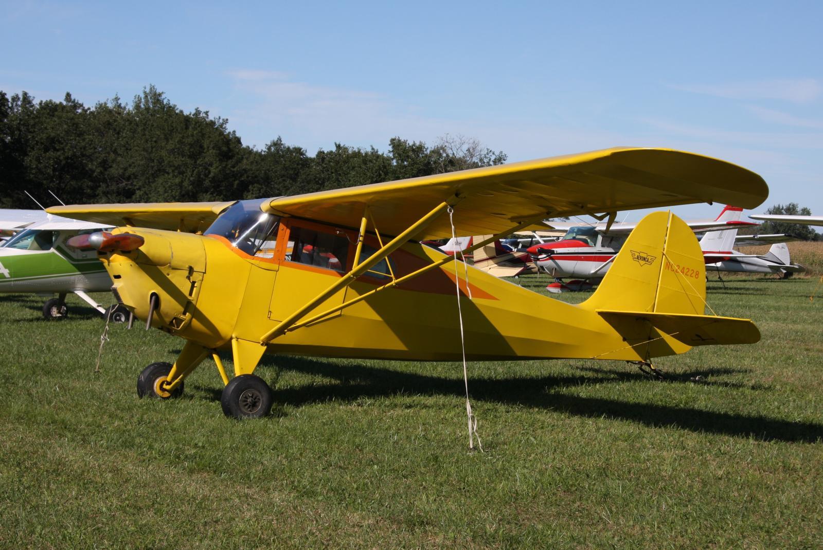 File Aeronca 65 La N24228 Jpg Wikimedia Commons