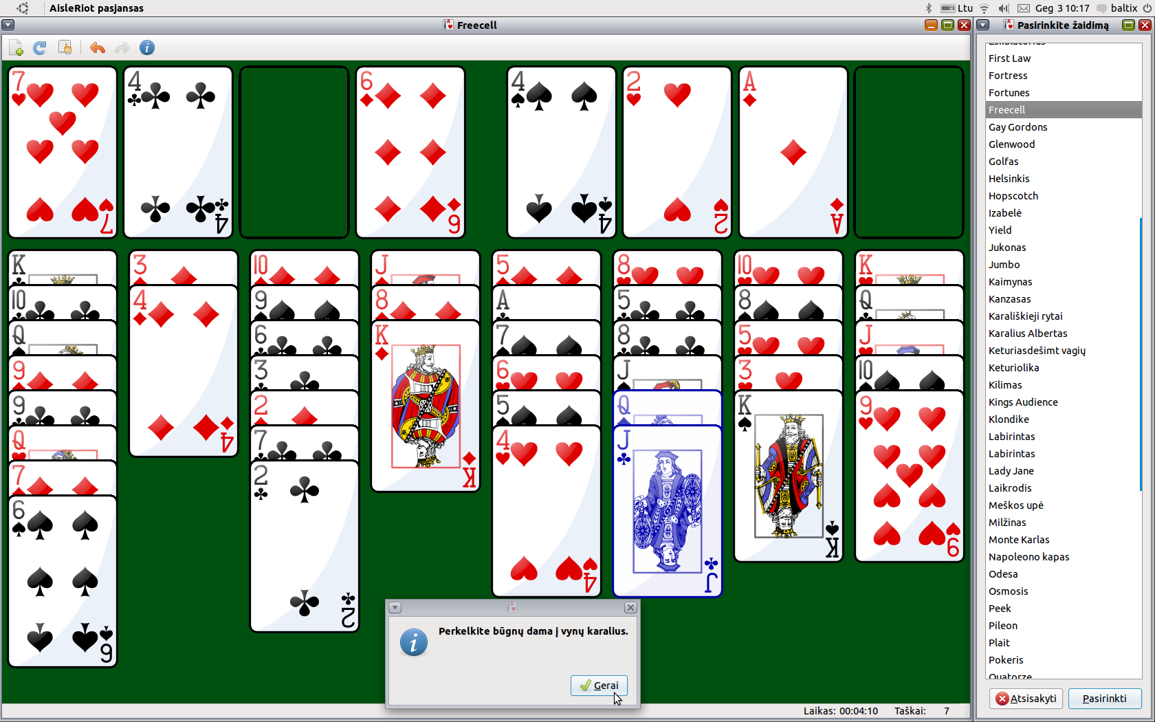 Games freecell