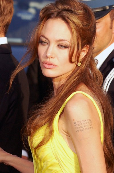 Angelina Jolie Body Type. Angelina Jolie. What type