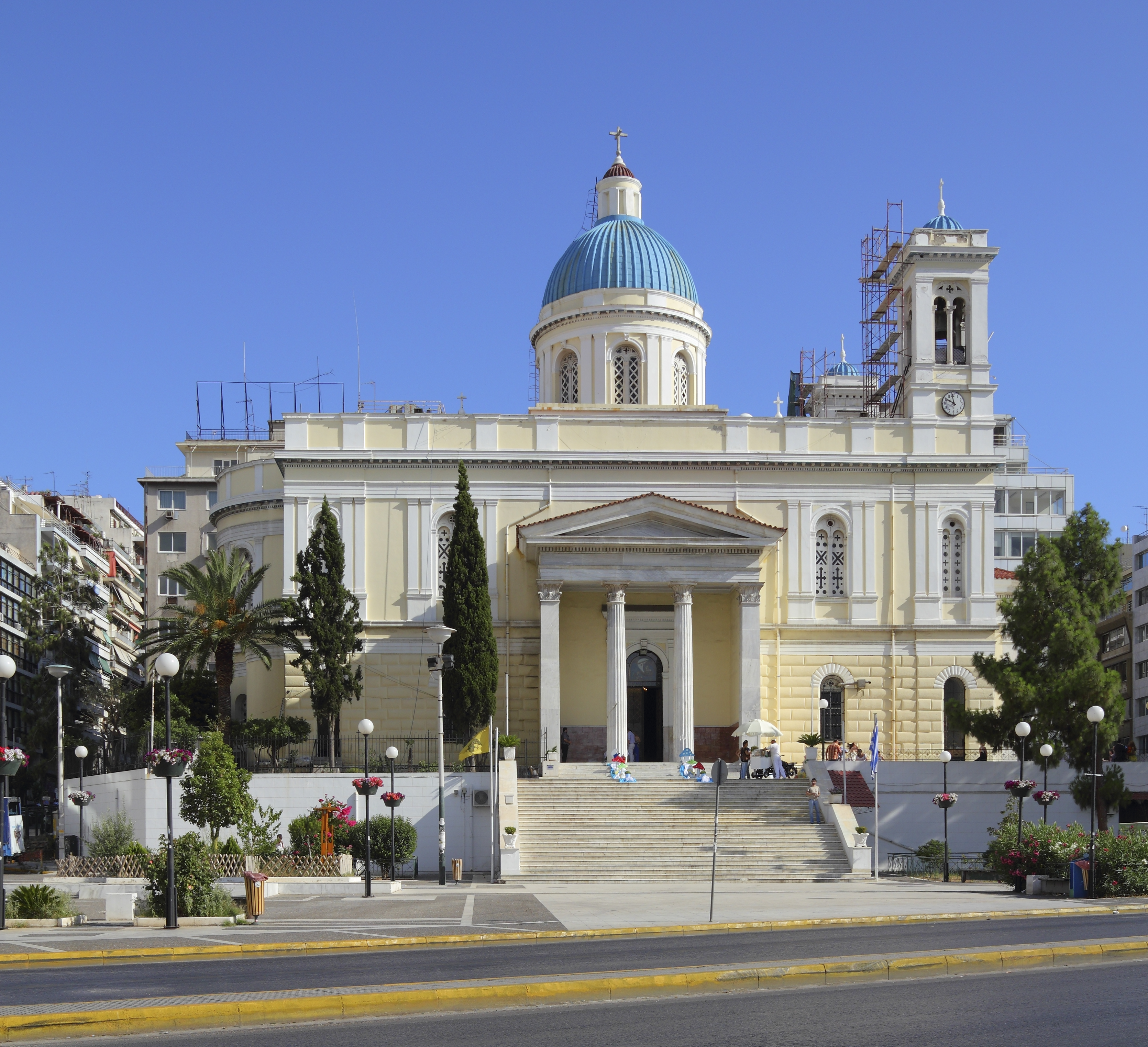 Image result for Church of St. Nicholas at Piraeus