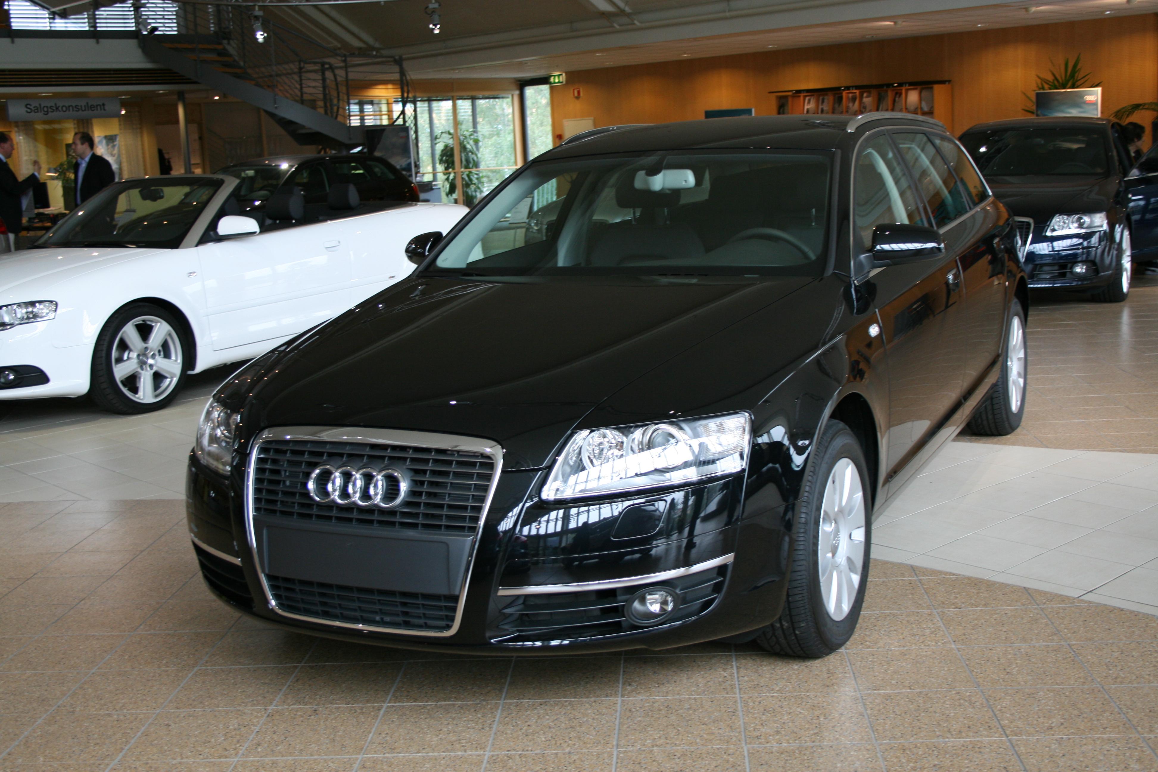 File Audi A6 Avant Jpg Wikimedia Commons