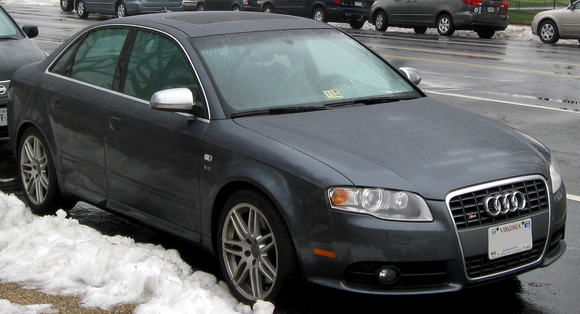 File Audi S4 Sedan B7 12 26 2009 Jpg Wikimedia Commons