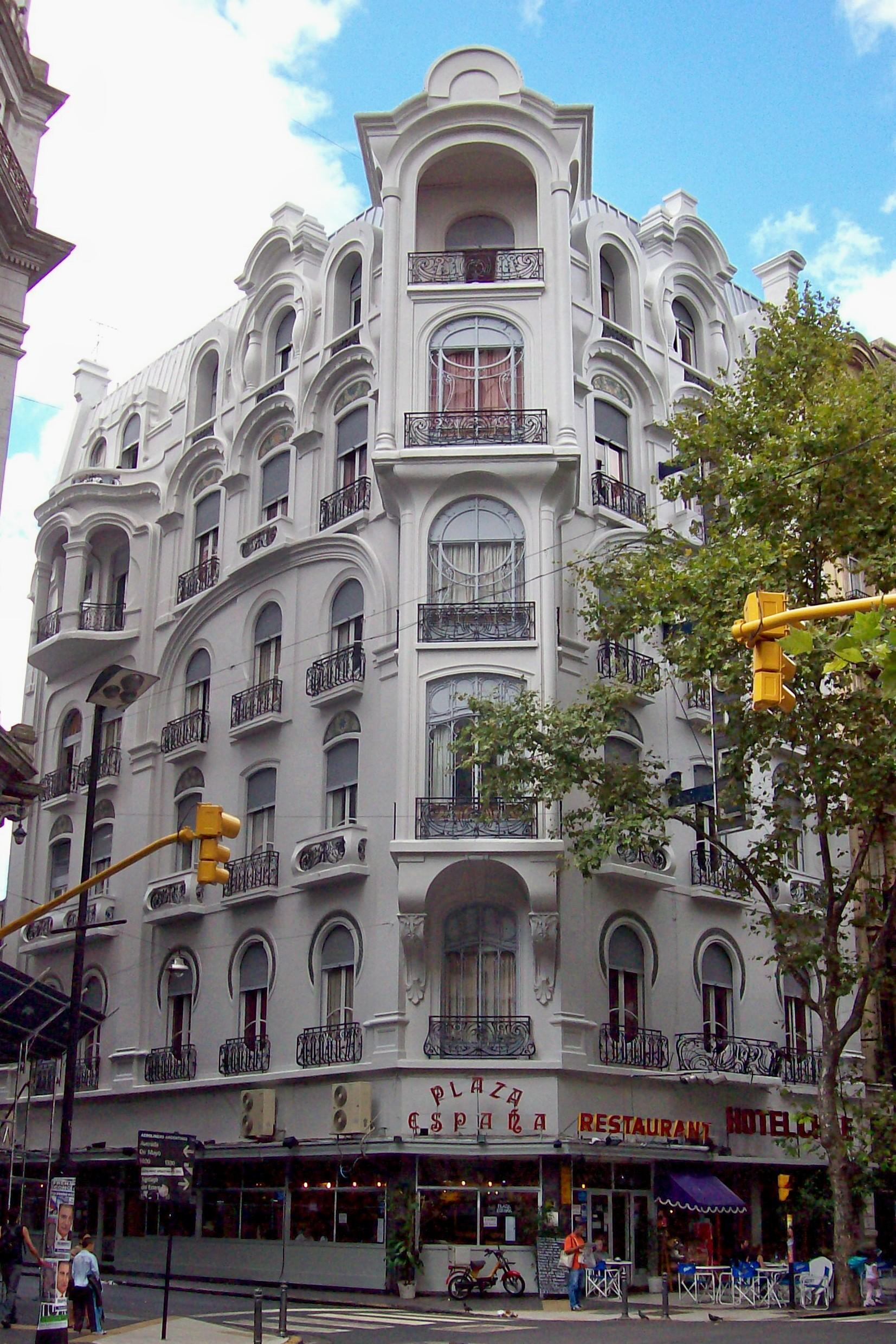 File avenida de mayo hotel wikimedia commons for Art deco hotel buenos aires