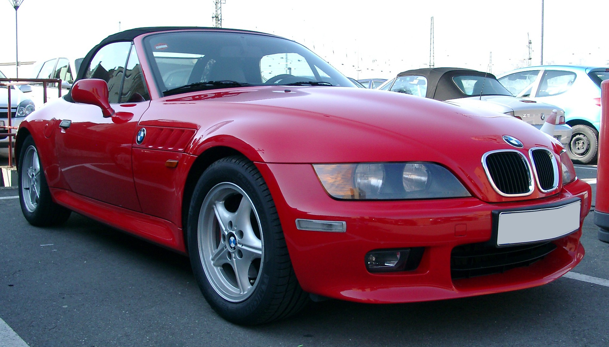 File Bmw Z3 Front 20070306 Jpg Wikimedia Commons