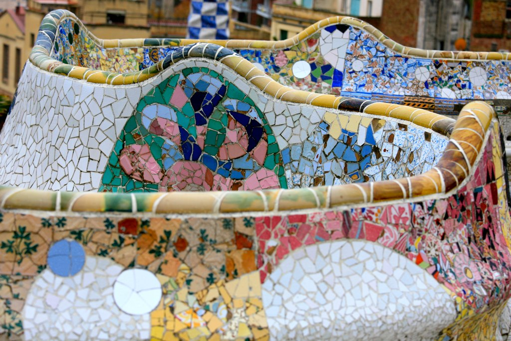 at Park Guell by A...
