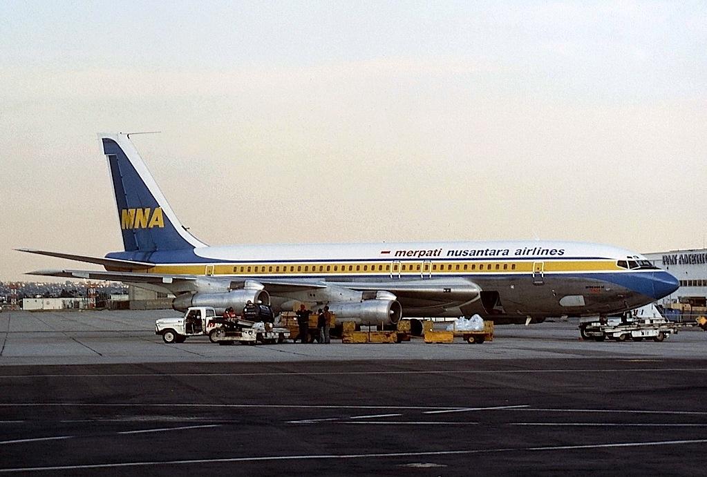 Boeing 707 Wikipedia Bahasa Indonesia Ensiklopedia Bebas