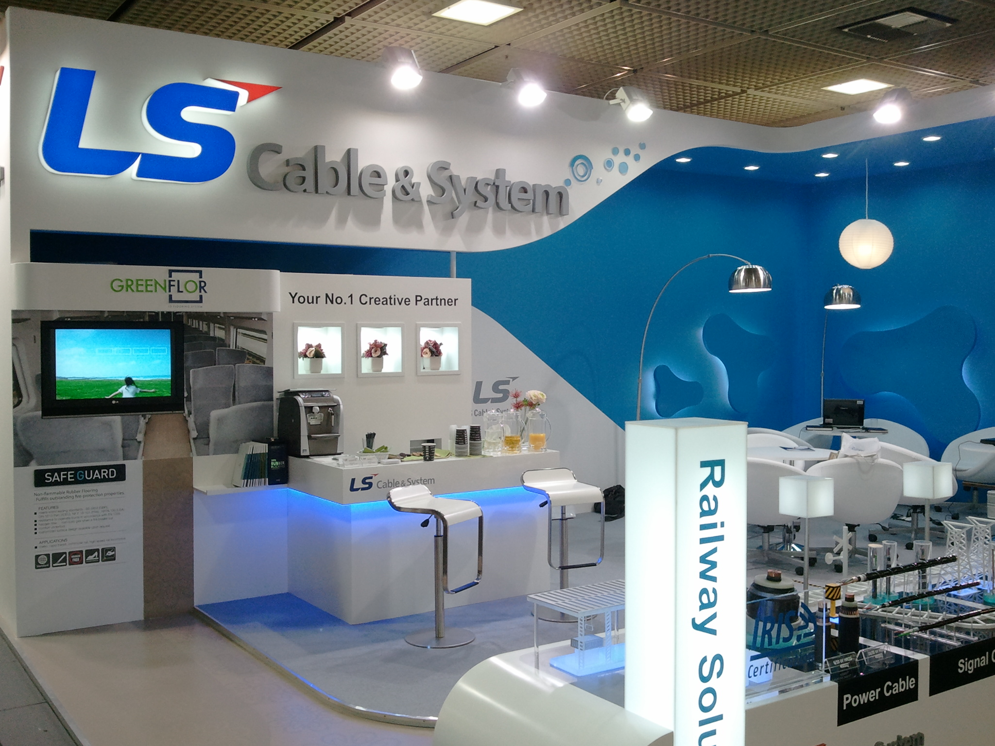 Exhibition Booth Wiki : File booth of ls cable system at the innotrans g