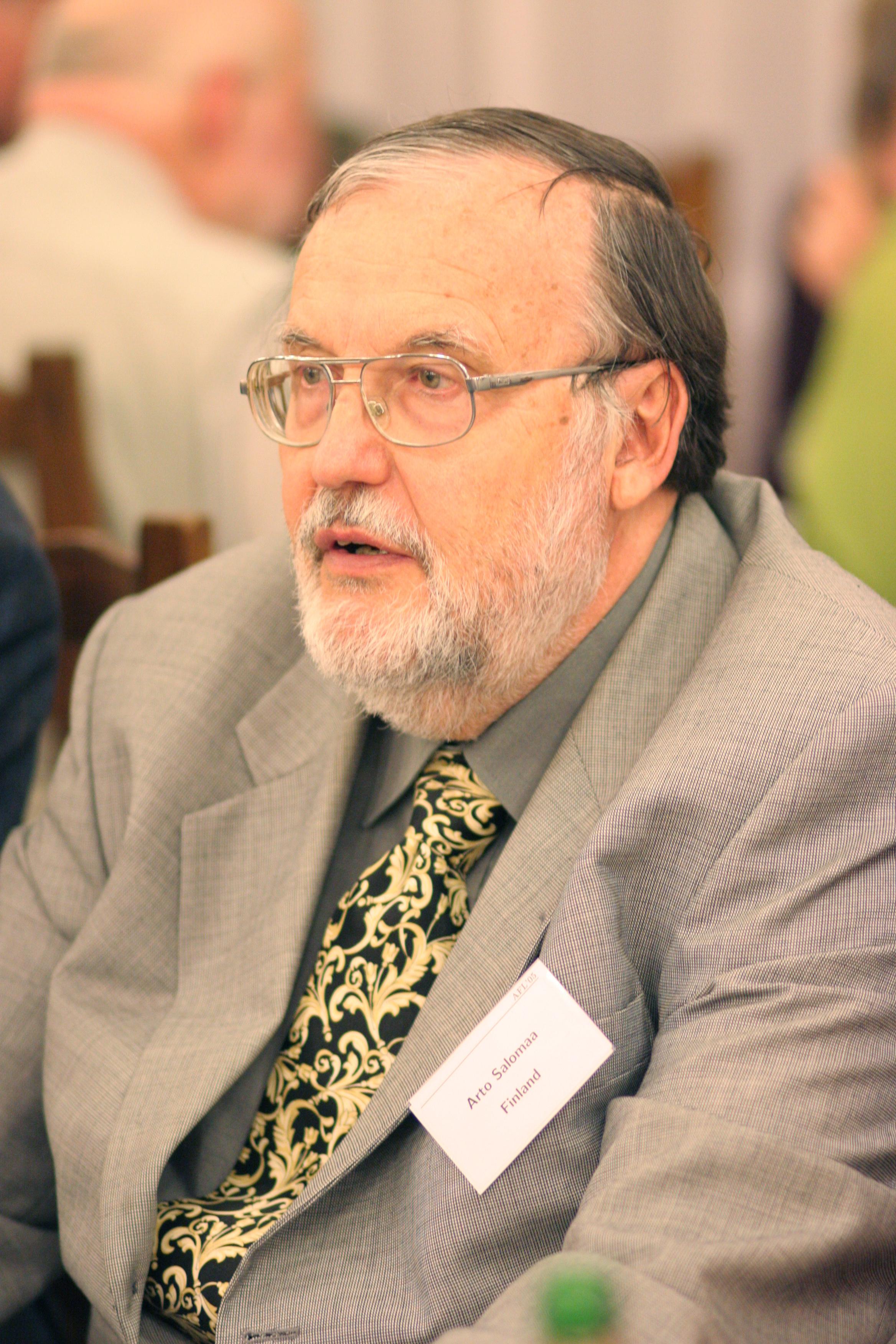 Arto Salomaa in 2005.