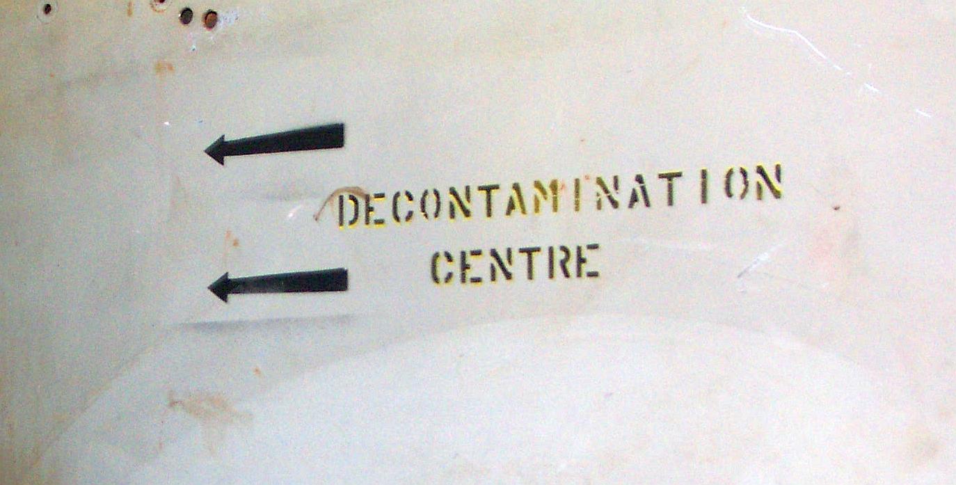 Hasil gambar untuk decontamination centre