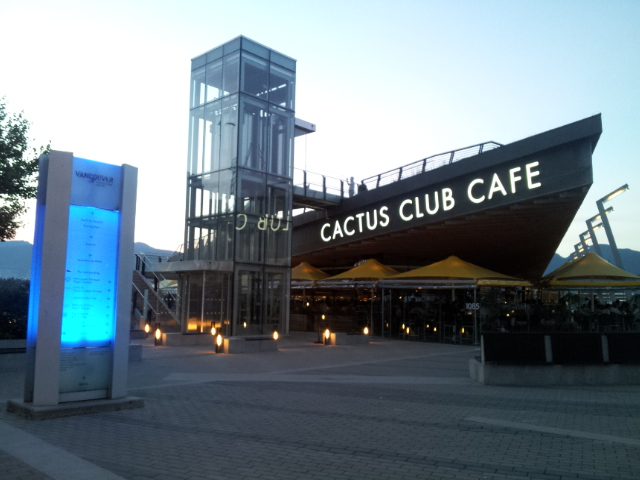 Cactus Club Cafe Vancouver Happy Hour