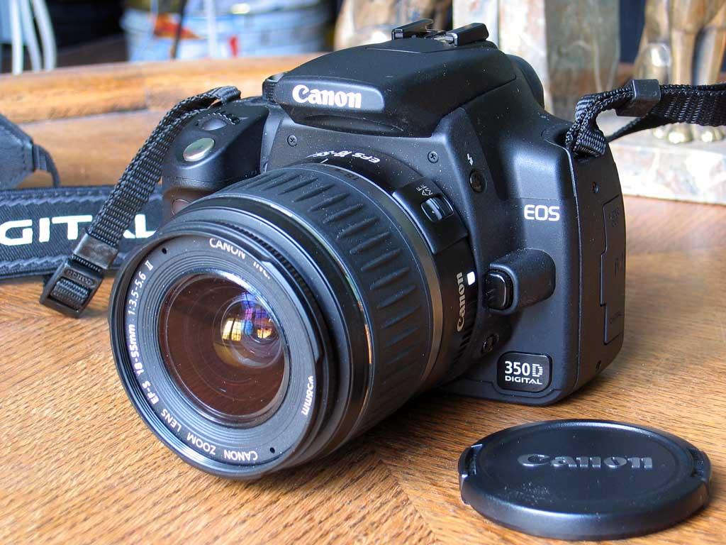 Camera Canon Eos 350d Dslr Camera canon eos 350d