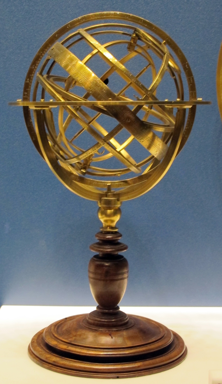 Carlo plato, sfera armillare, roma 1578.JPG
