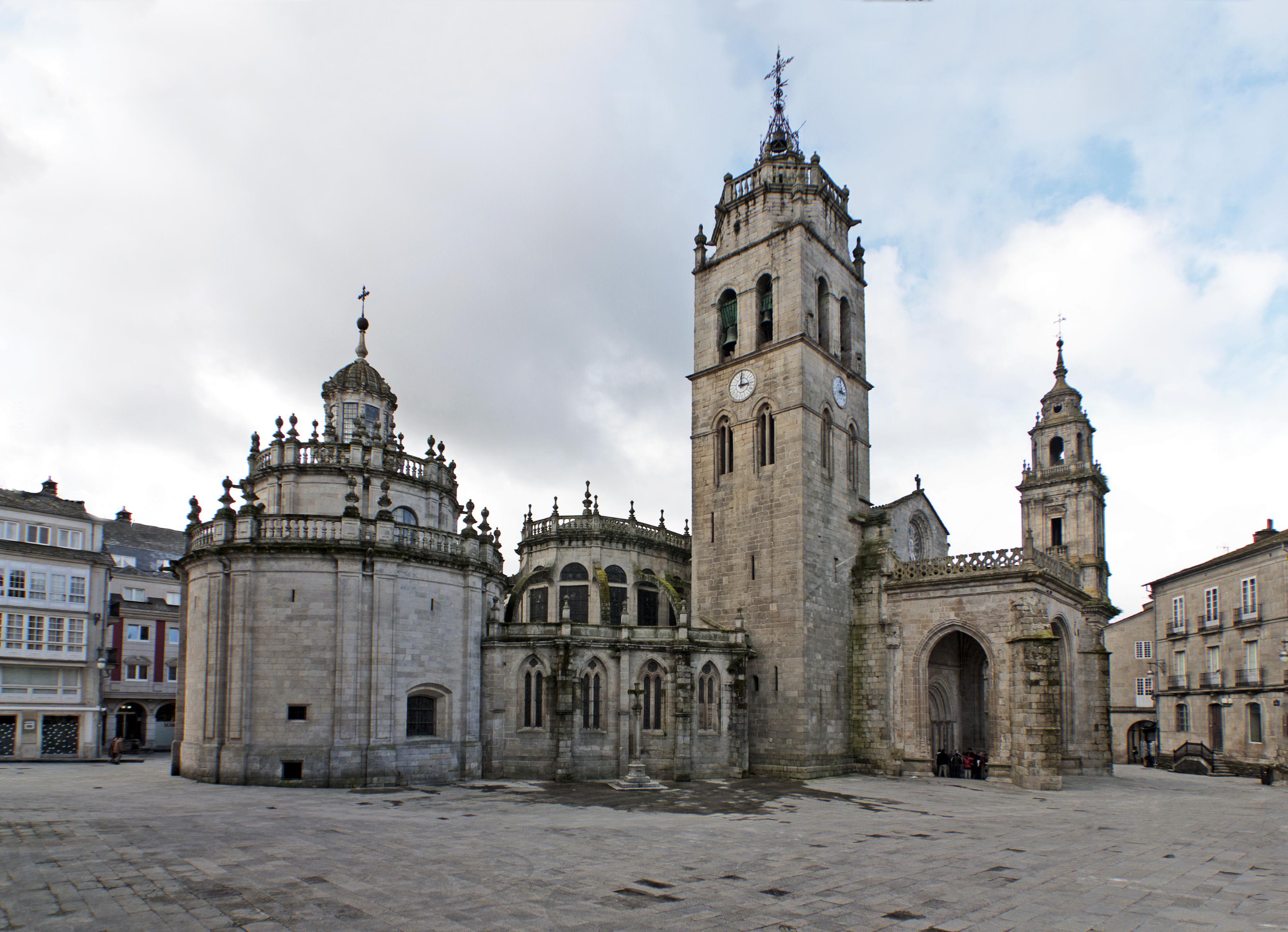 Resultado de imagen de catedral de santa maría lugo