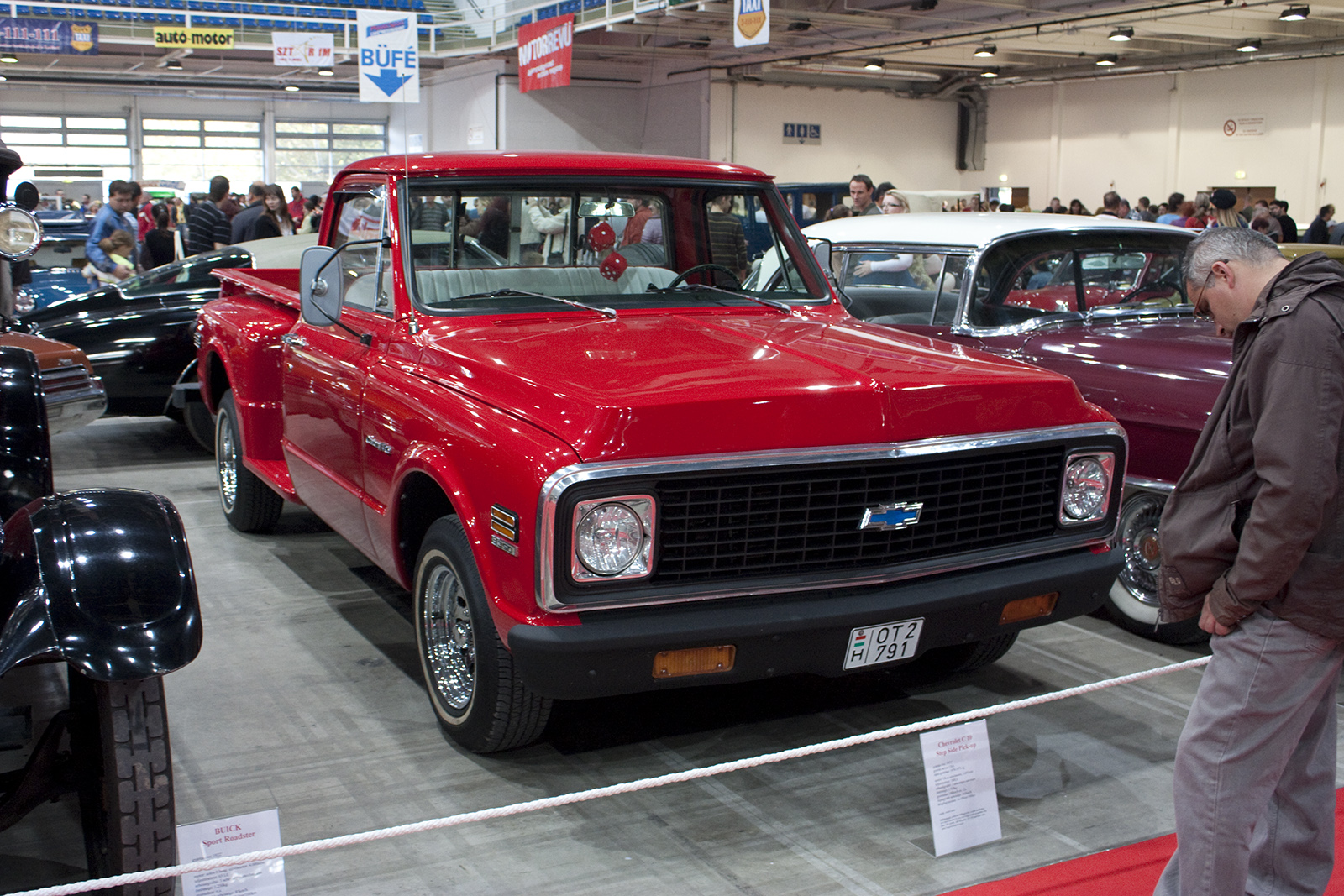 All Chevy chevy c10 wiki : File:Chevrolet C10 Step Side Pickup - Flickr - jns001.jpg ...