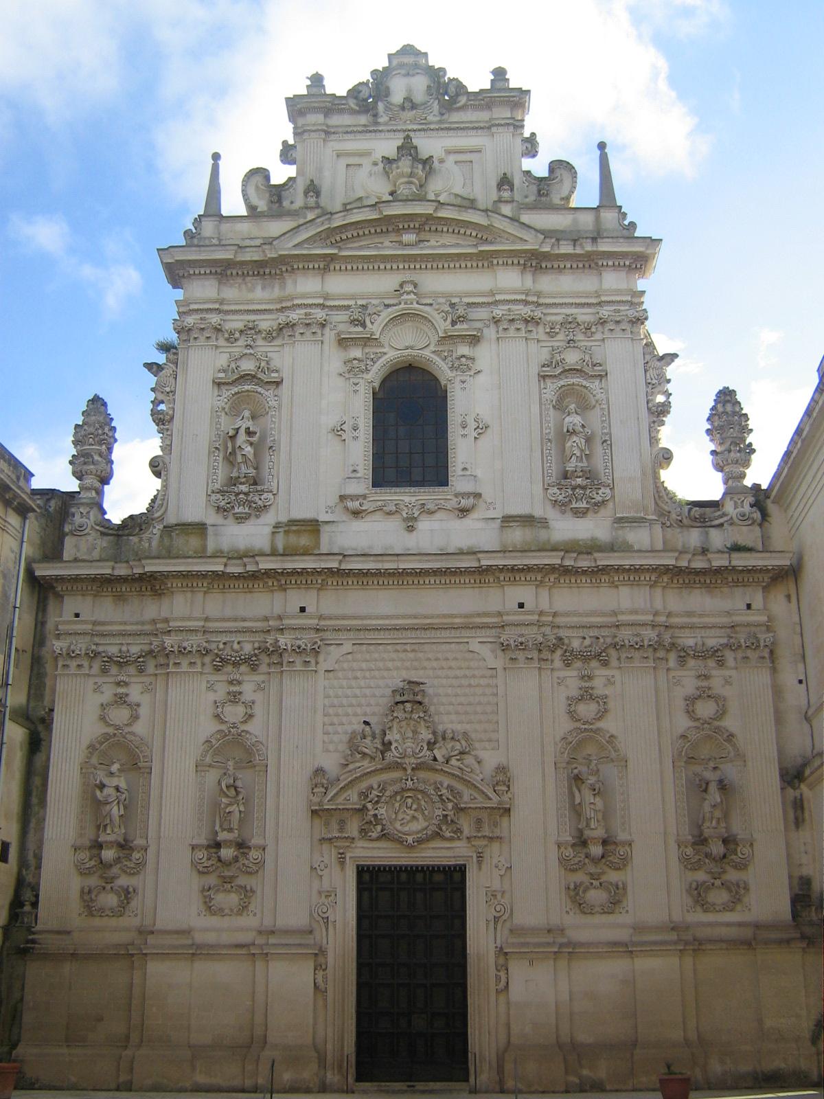 Risultati immagini per Chiesa del Carmine Lecce