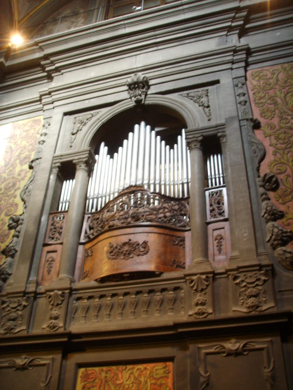 File Chiesa Di San Gaetano Organo Nel Coro Serliana Jpg