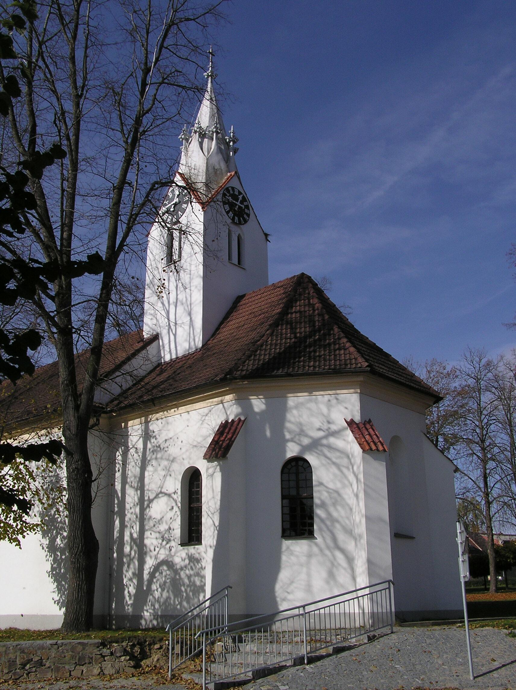 kostel Narození Panny Marie v Dolním Bukovsku